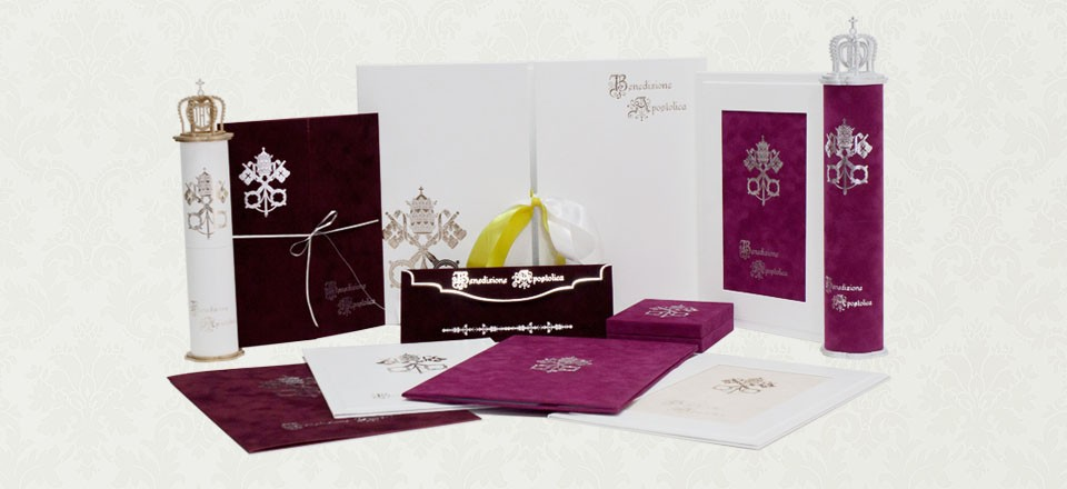 Oprawy do Dyplomów Papieskich